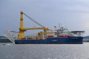 Російське судно-трубоукладач, яке, ймовірно, може добудувати «Північний потік – 2» вийшло з Находки
