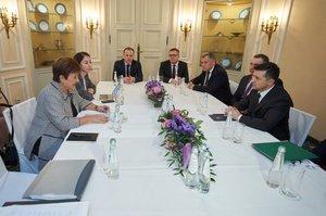 Зеленський обговорив з главою МВФ стан української економіки