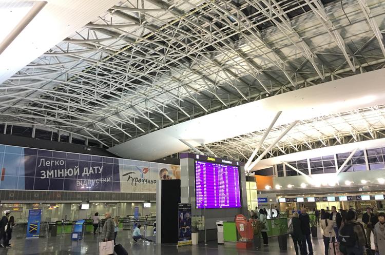 Аеропорт Бориспіль очікує скорочення пасажиропотоку у 2020 році