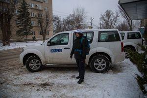 ОБСЄ зафіксувала понад 2300 вибухів під час ескалації 18 лютого на Донбасі