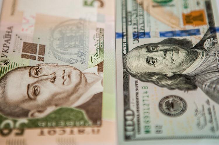 Курс гривні на міжбанку в п'ятницю знизився до 24,4625грн/$