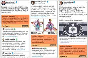 Twitter буде робити фактчекінг дописів політиків і попереджати про фейковий зміст