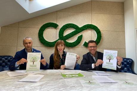 HD-group стала співорганізатором глобальної ініціативи «Озеленення планети» в Запорізькій області