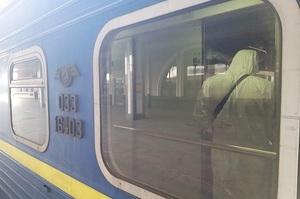 До Києва прибув поїзд з українцями, які повернулися з Росії