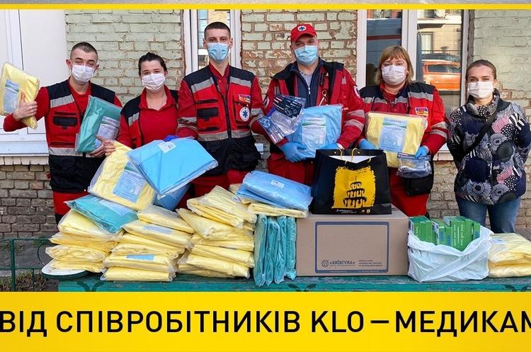 Мережа АЗК KLO виділила 12,5тисяч літрів пального для автомобілів київських лікарень