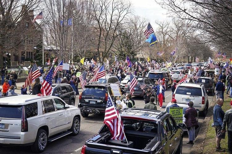 У США прихильники Трампа вийшли на протести проти карантину