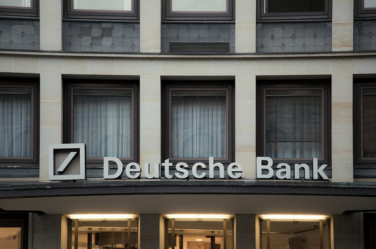 Прибуток Deutsche Bank в І кварталі склав 66 млн євро, тоді як рік тому -201 млн євро