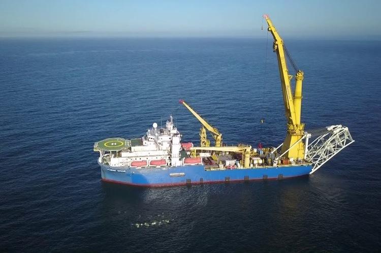 Трубоукладач, здатний завершити будівництво газопроводу Nord Stream-2, прямує до району прокладання труби
