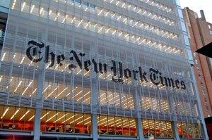 The New York Times отримала Пулітцерівську премію за серію статтей про режим Путіна