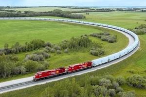 Канадська залізниця відправила найдовший у своїй історії поїзд