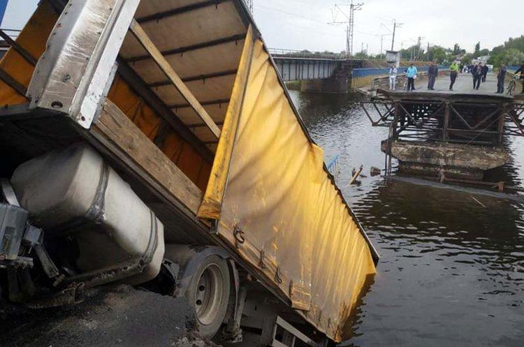 Міст, який обвалився в Олексіївці, відремонтують у першу чергу – голова «Укравтодору»
