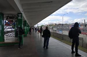 В Киеве заминировали мост Метро, минера задержали (ВИДЕО)