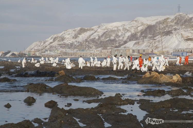 У Норильську масштабна екологічна катастрофа через розлив нафтопродуктів