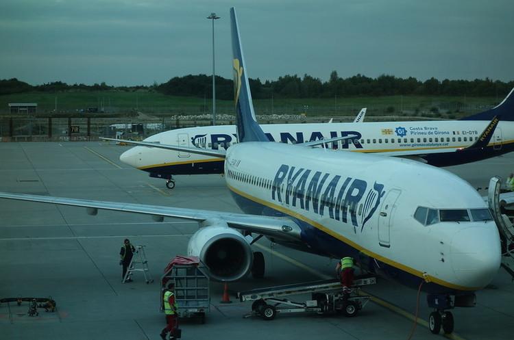 Ryanair открыл продажу на 28 еженедельных рейсов из Украины в Италию