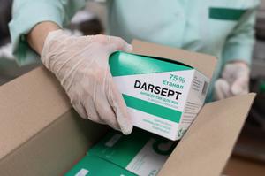 «Дарниця» випустила дезінфікуючий засіб Darsept