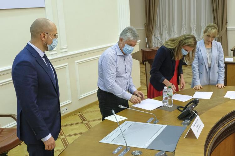 Уряд підписав меморандум з виробниками «зеленої» електроенергії