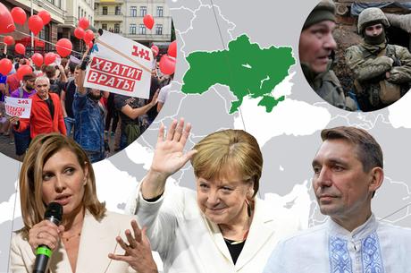 Україна в європейських ЗМІ: Ангела Меркель про Мінський процес, Європарламент проти російської дезінформації, мітинги Шарія та коронавірус у Зеленської