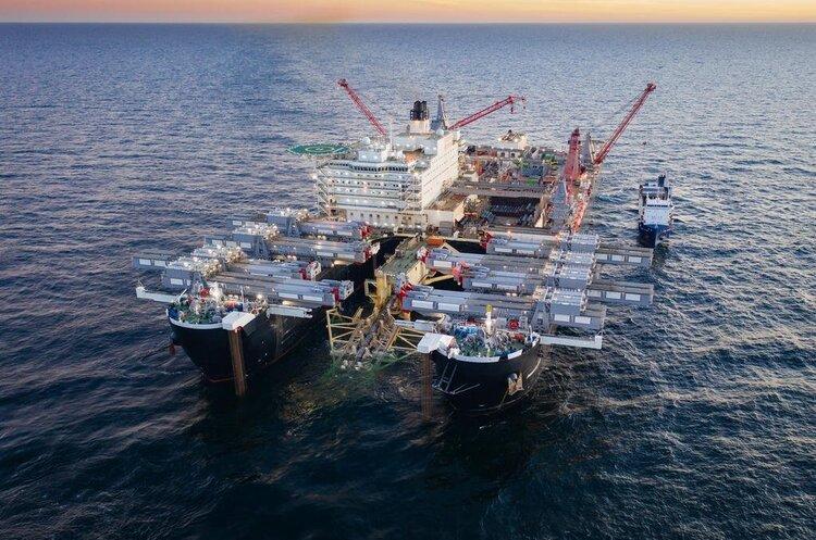 «Нафтогаз» закликав США прийняти закон про санкції щодо «Північного потоку 2»