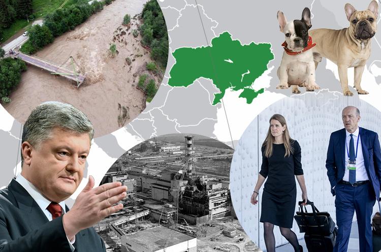 Україна в європейських ЗМІ: 38 мертвих цуценят, анонс допиту Порошенка, повені в Карпатах, сумніви адвокатів у слідстві щодо МН17 та секретні документи про Чорнобиль