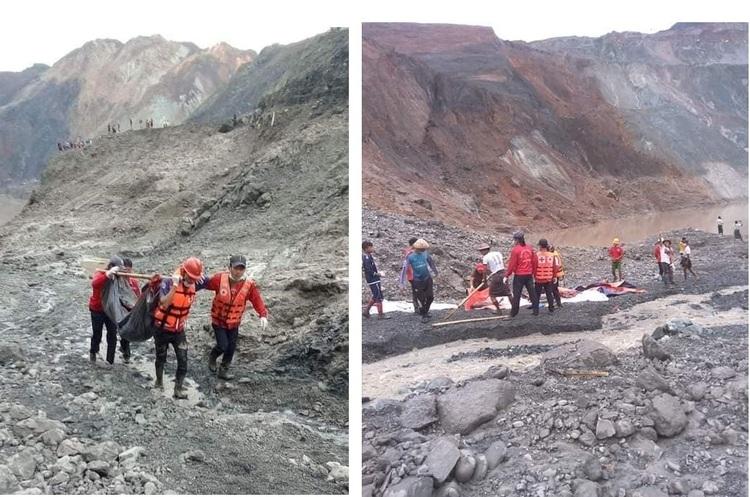 В М'янмі через аварію на шахті загинули щонайменше 116 людей
