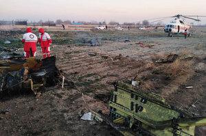 Іран погодився виплатити компенсацію сім'ям загиблих в аварії українського лайнера