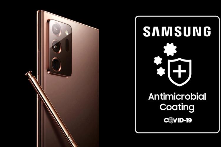 Samsung взялася за розробку чохлів для смартфонів з антимікробним покриттям