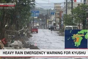 Кількість загиблих через зливи в Японії досягла 52 осіб