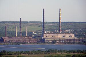 Гірники вимагають відновити газопостачання Слов'янської ТЕС