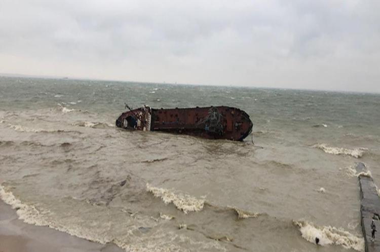 Підйом танкера «Делфі» за умови ясної погоди та відсутності хвиль буде завершено до 20 липня - Криклій