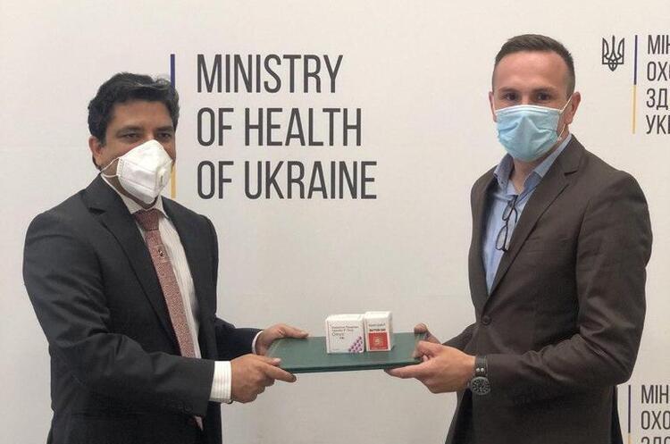 Індія передала Україні препарати для боротьби з COVID-19