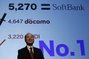 Засновник SoftBank збагатів на $12 млрд за останні три місяці