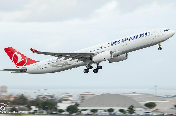 Turkish Airlines у серпні удвічі збільшить маршрутну мережу в Україні