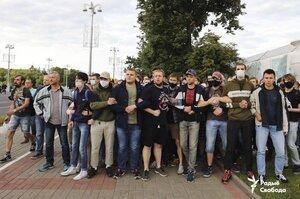 У білоруських містах розпочались протести після недопуску на вибори суперників Лукашенка