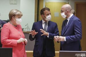 У Брюсселі проходить перший після початку пандемії Саміт глав Євросоюзу