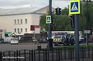 Луцького терориста нейтралізували та затримали (ВІДЕО)