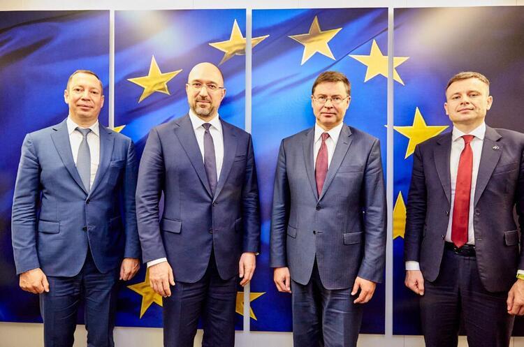 Україна підписала меморандум з ЄС про отримання макрофінансової допомоги 1,2 млрд євро