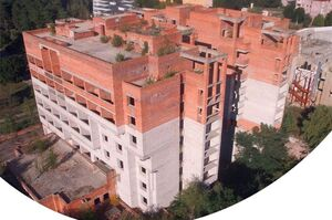 ФДМУ анонсує аукціон із продажу недобудованого готелю у Славутичі