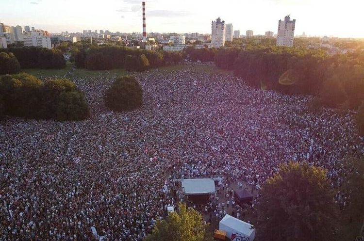 Мітинг суперниці Лукашенка на виборах побив рекорд за кількістю учасників
