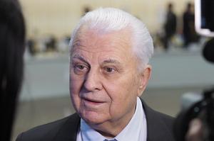Кравчук назвав два свої перші кроки на перемовинах щодо Донбасу