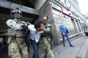 Силовики захватили мужчину, угрожавшего взорвать БЦ «Леонардо» в Киеве (ОБНОВЛЯЕТСЯ)