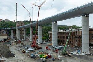 У Генуї відкрили новий міст через два роки після трагічного обвалу старого мосту
