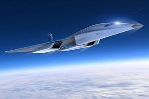 Virgin Galactic показала дизайн пасажирського літака, що літатиме втричі швидше за звук