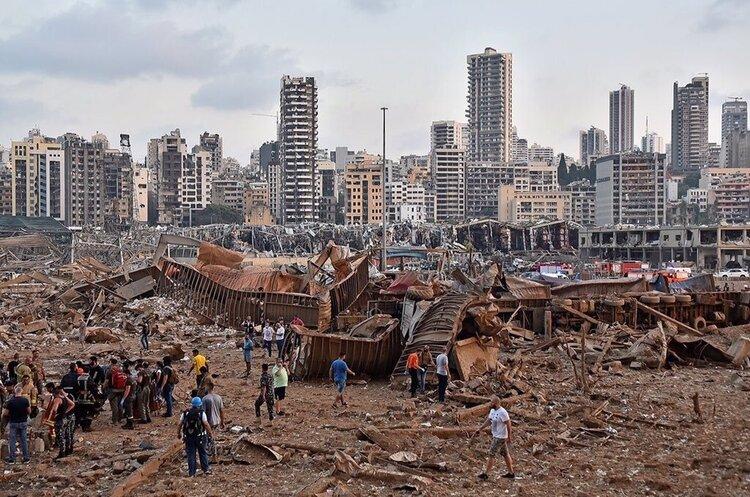 Від вибуху в Бейруті загинуло щонайменше 78 людей, 4000 отримали поранення (ОНОВЛЕНО)