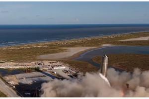 SpaceX провела успішне випробування прототипу корабля Starship, який полетить на Марс (ВІДЕО)
