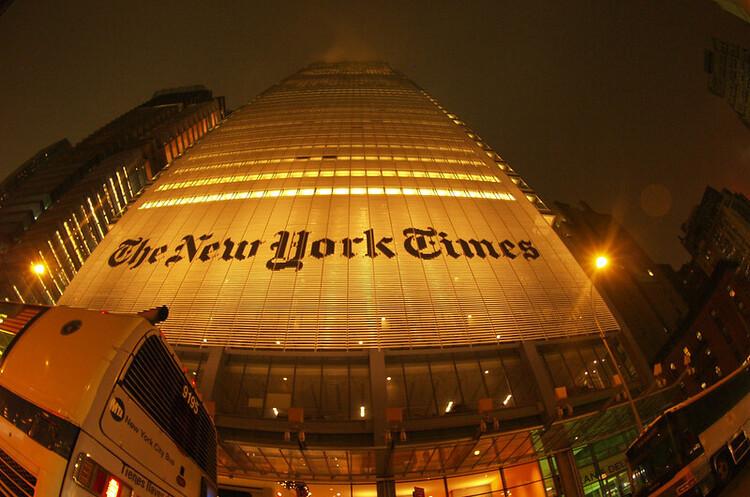 Вперше за 169 років The New York Times отримала більше доходів від цифрової версії, ніж від паперової