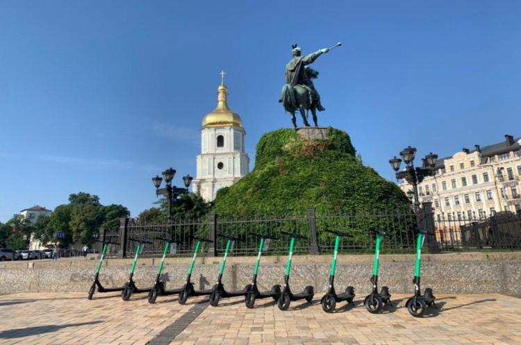 Bolt запустив прокат електросамокатів у Києві
