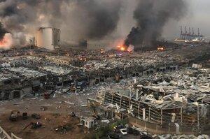 Президент Лівану заявив про можливе «зовнішнє втручання» як причину вибуху в Бейруті