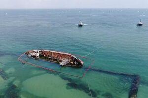 Затонулий танкер «Делфі» підійматимуть коштом приватної компанії