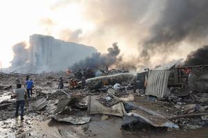 Масштаб руйнувань через вибух у Бейруті сягає $15 млрд – президент Лівану