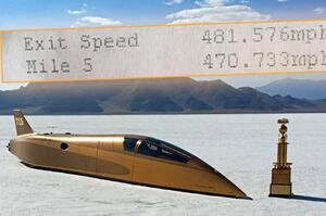 У США встановили новий рекорд швидкості пересування по землі